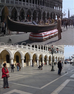 Bond in Venice then and now 5