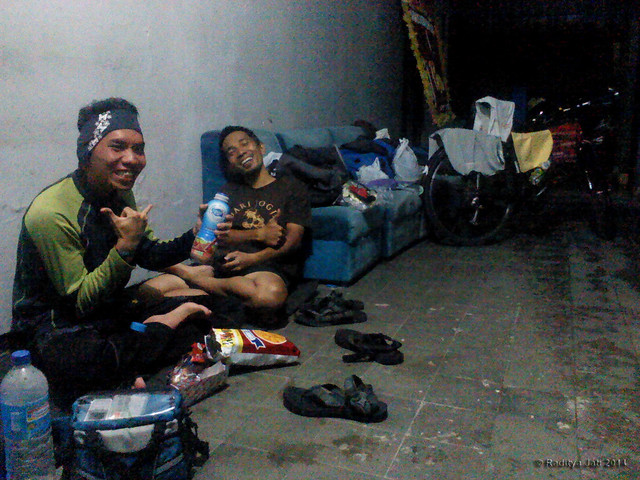 In The 'Campsite'