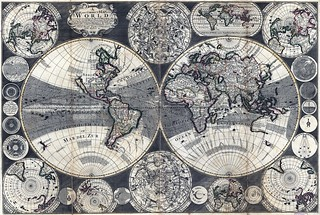 New and Correct 1702 World Map | by sjrankin