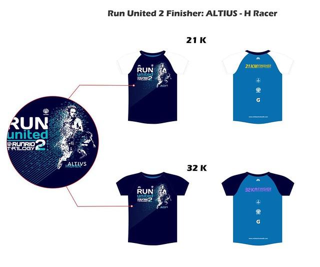 Run United 2 2014 finisher's shirt