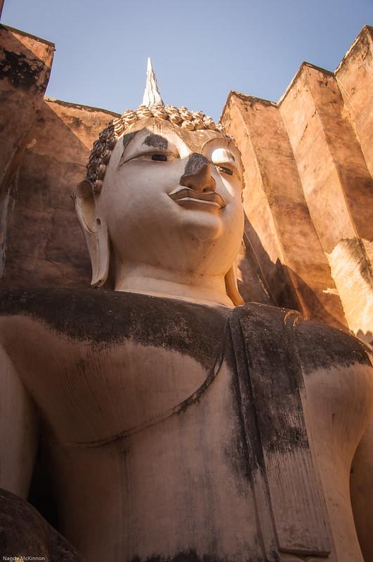 Wat Si Chum Sitting Buddha