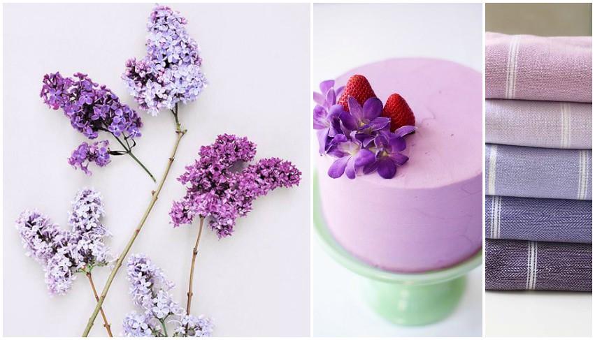 Tacones con gracia colores lila lavanda violeta - Gama de colores morados ...