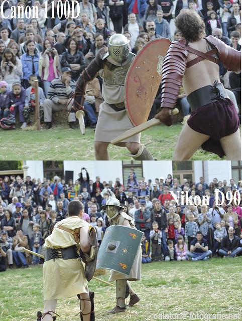 Foto-confruntarea gladiatorilor. Nikon D90 vs Canon 1100D 14172861904_5a5c21d160_z