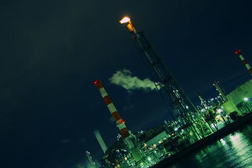 Nightscape at Kawasaki Industrial Zone 10