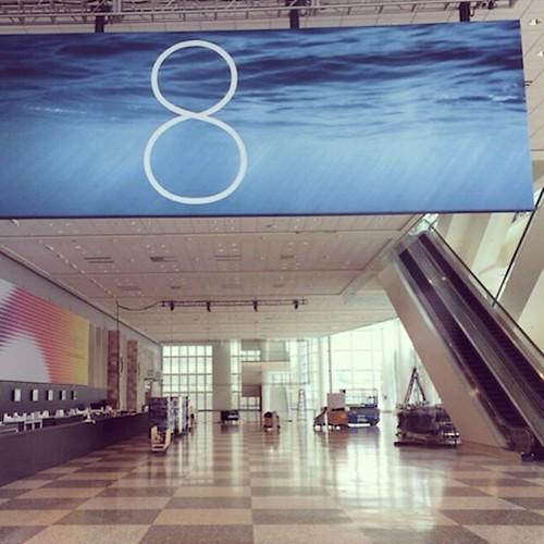 iOS 8 #WWDC #MosconeCenter #SanFran #Apple