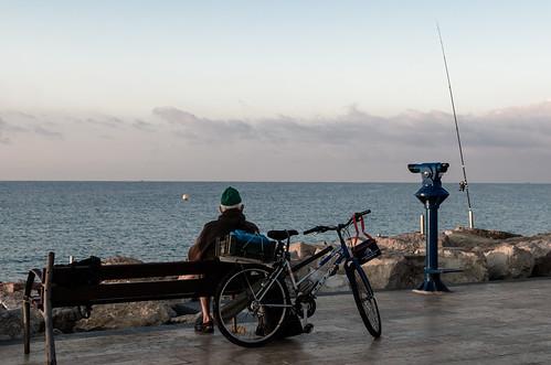 Angler in Salou