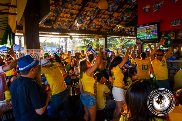 Bar Cheering for the World Cup