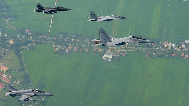 RMAF F/A-18, MiG-29, Su-30 & BAE Hawk during Cope Taufan 14 (2)
