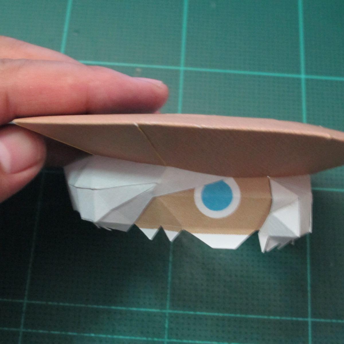 วิธีทำโมเดลกระดาษของเล่นคุกกี้รัน คุกกี้รสพ่อมด (Cookie Run Wizard Cookie Papercraft Model) 045