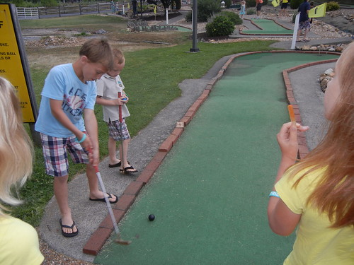 June 20 2014 Minigolf