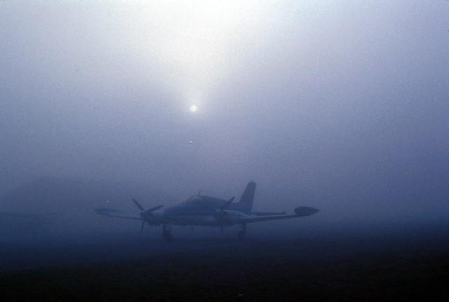 09 N4903T in Fog