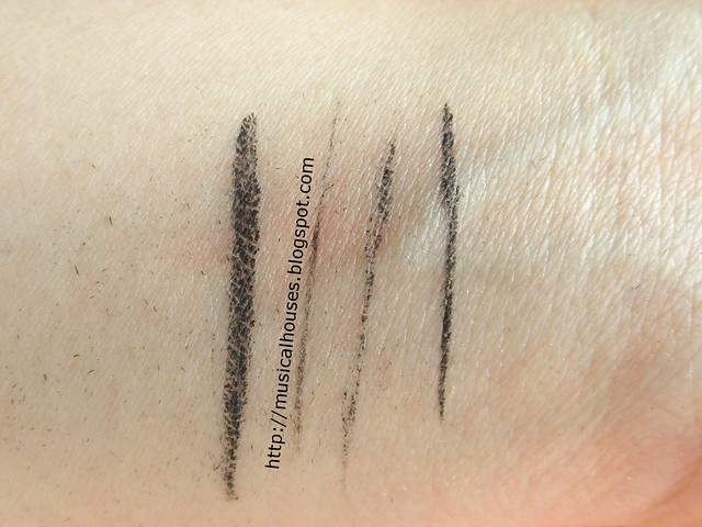 Benefit Theyre Real Push Up Liner Smudgeproof Test