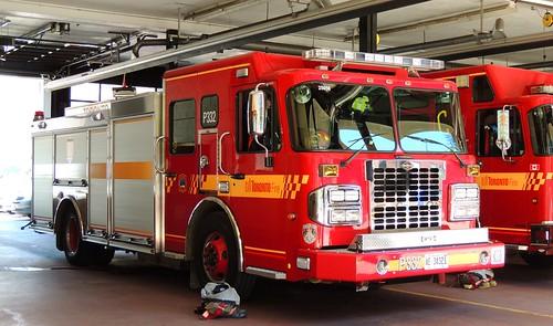 Fire Station # 332 Fire Truck