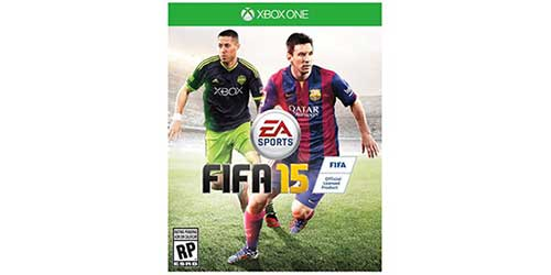 FIFA 15 cover stars Clint Dempsey in North America