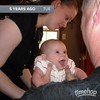 Awwww, big girl Avi still loves her Papa this much! #timehop