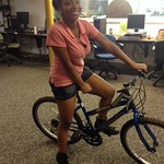 Deeana completed her earn a bike!!