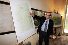 Meadow designer Larry Weaner presents his draft design
