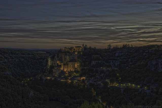 Rocamadour HDR. Bracketing the life.