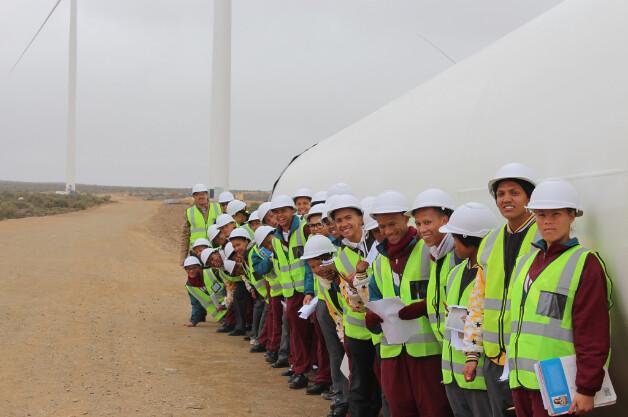 Wind farm Visit at Loeriesfontein