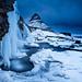 Kikjufellsfoss Winter by Snorri Gunnarsson