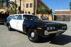 LAPD - 1971 Plymouth Satellite Wagon restored  (1)