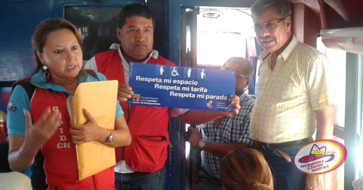 Consejo de Protección de Derechos realiza campaña en unidades de transportes