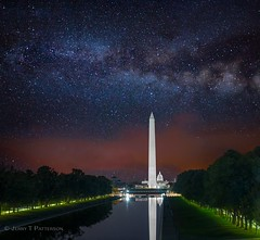 Washington, DC Monuments & Milky Way