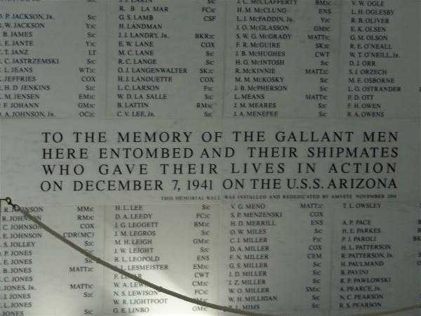 USS Arizona memorial, Pearl, Sony DSC-W690
