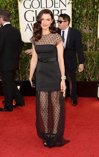 Rachel Weisz Sheer Dress Celebrity Style Women's Fashion