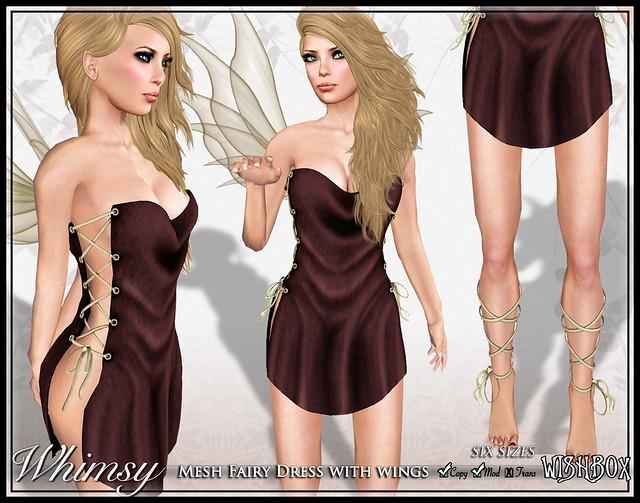 Whimsy Mesh Fairy (Cocoa)