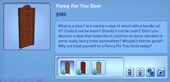 Fancy for you Door