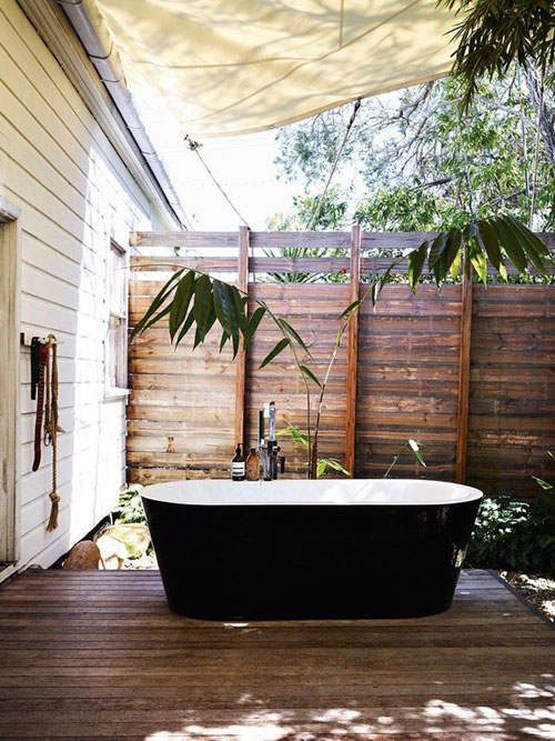 OUTDOOR BATHING BLISS THE STYLE FILES
