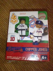 Chipper Jones Mini Figure