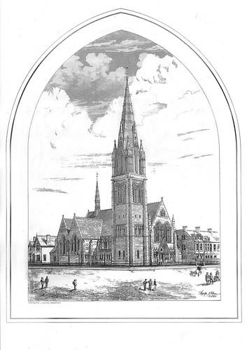 Mayfield Salisbury Curch - nineteenth century
