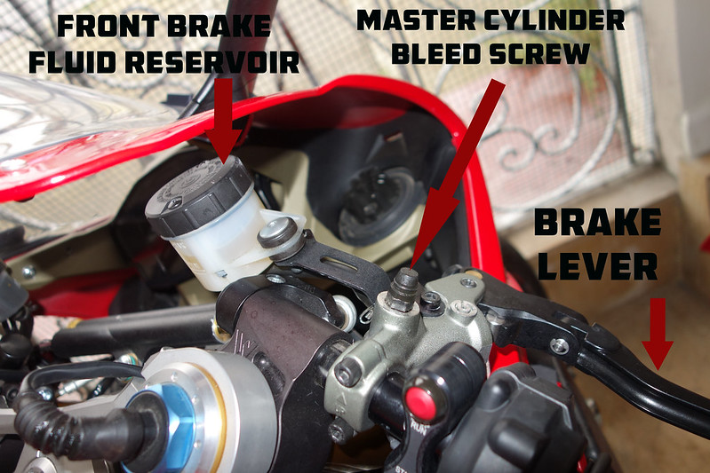 How To: Front Brake Bleed - Ducati Forum