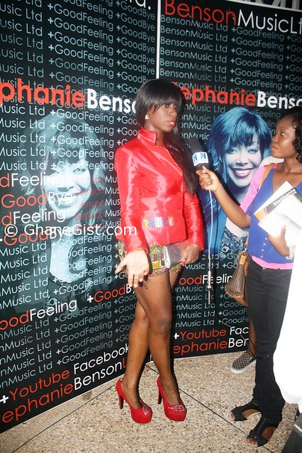 Stephanie Benson singles launch (1)