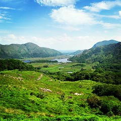 Today at Ladies View on the Ring of Kerry.