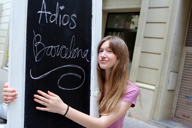 Adios Barcelona!