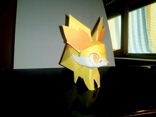 Fennekin (Pokemon) by Giuseppe Lombardi