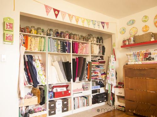 fabric wall long shot