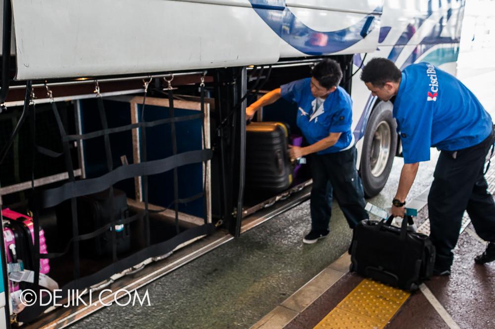 Narita Airport - Airport Limousine Baggage handling