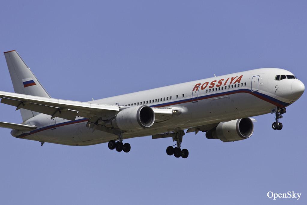 Rossiya - Russian Airlines Boeing 767-3Q8(ER) EI-DZH