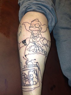 Simpsons sleeve