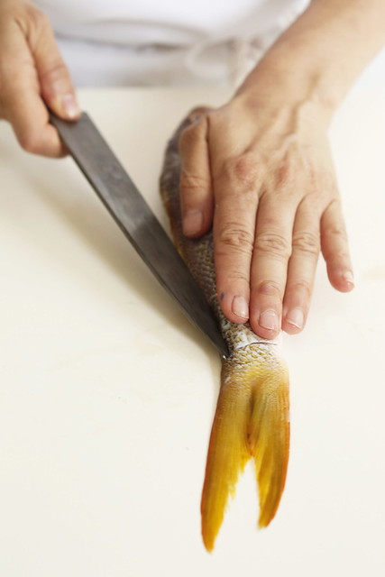 Filetting a Fish from Food52