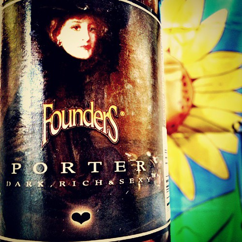 Founders Porter #craftbeer #darkrichandsexy #beer #porter #michigan #michiganbeer by crazyBobcat