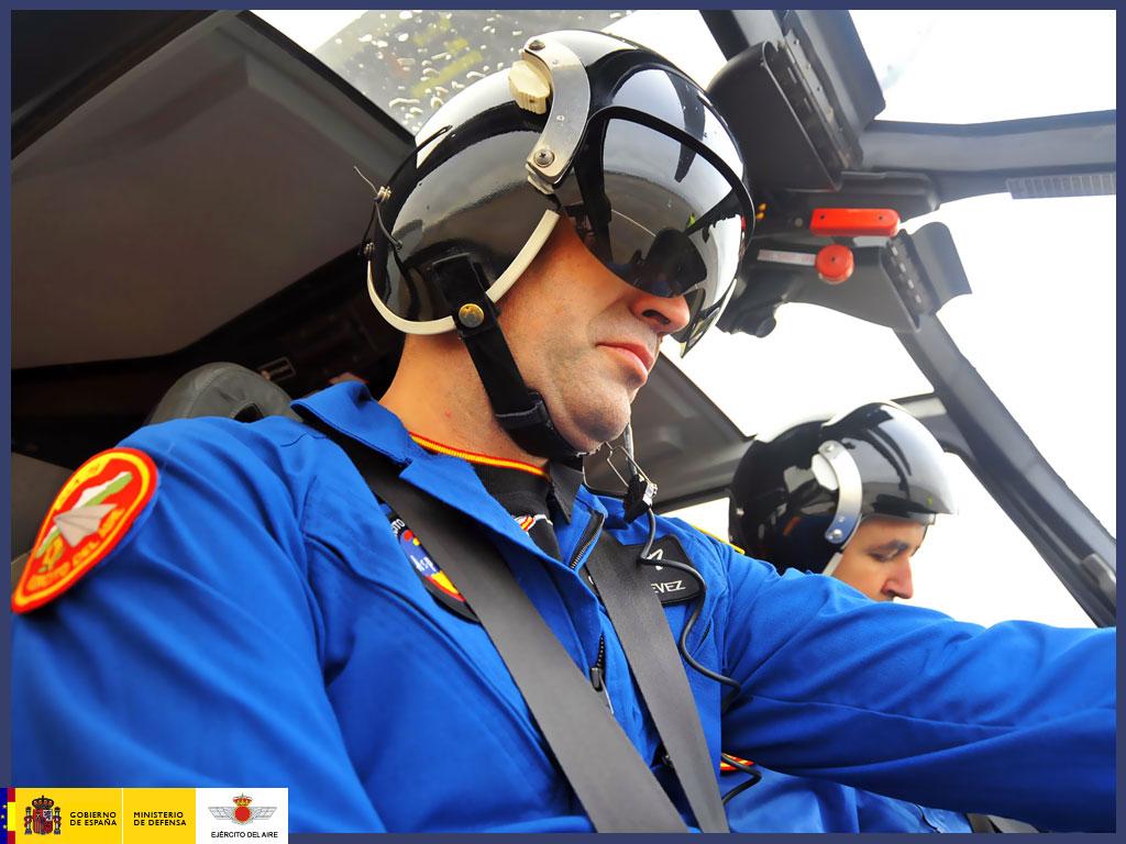Piloto de la Patrulla Aspa