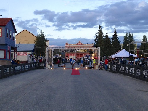 Leadville Trail 100 Run Finish Line