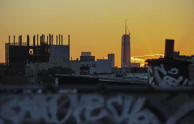 World Trade Center Tower one(Freedom Tower) from Brooklyn | WTC Sunset