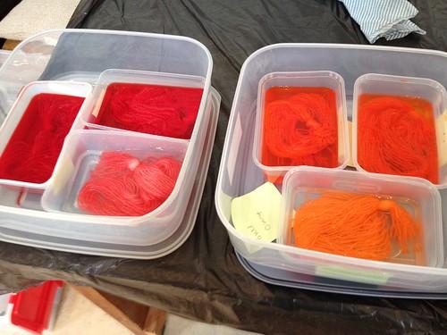 Toft dye day