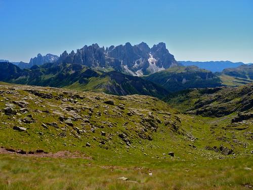 Panorama da Forcella Vallazza
